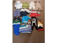 Bundle of clothes 3-6 months and Halloween costume sleepsuit worn once