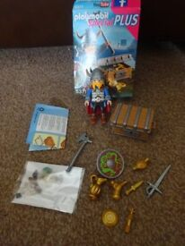 Playmobil Boxed As New Complete with Instructions Special Plus Viking with Treasure Set 5371 Only £4