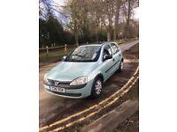 1.0 Vauxhall Corsa 12 MONTHS MOT