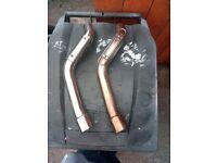 yamaha r1 4xv /5jj high level link pipes