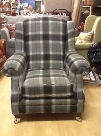 New wing chair made by Alstons