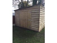 4.8 METRES X 3.6 METRES GARDEN SHED , OFFICE SPARE BEDROOM.