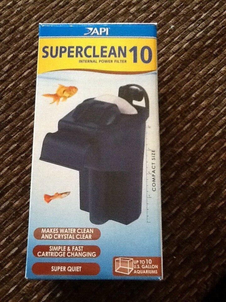 API SUPERCLEAN 10 INTERNAL POWER FILTER Aquarium Internal Fi