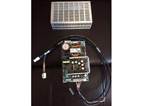 ARTESYN EMBEDDED TECHNOLOGIES NFS80-7606J AC/DC Power Supply with Cables & Frame.........New