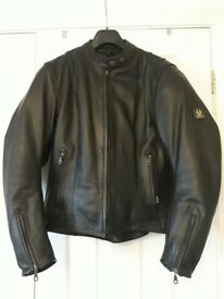 Ladies Belstaff Motorbike Jacket - Size 16 Leather