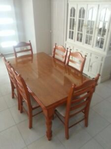 Solid Wood 7 piece Dining Room Set Hillcrest Logan Area Preview