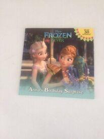 Disney frozen fever Anna's birthday surprise