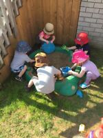 Reliable upper Stoney Creek home daycare (September spots)