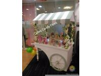 Candy cart sweet stall & 18+ flavours of glow in dark candy floss & pick 'n' mix delivery service!