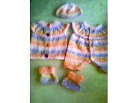 Baby Handknitted Set NEW