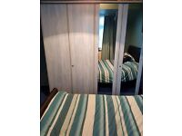 4 door lockable wardrobe