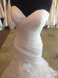 Robe de mariée NEUVE achetée chez Anne Jean-Michel, taille 8