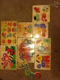 ELC wooden puzzles