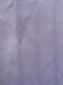 Lavender coloured Lined Curtains