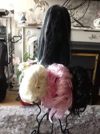 Fancy dress wigs