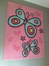Baby Girl Butterfly Rug Tarneit Wyndham Area Preview