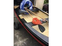 12ft fibreglass fishing boat and trailer gwo