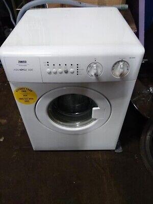 Zanussi Aquacycle 1300 COMPACT small washing machine 500mm, 50cm wide