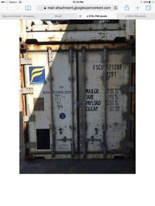 Shipping containers 20' insulated non operational reefers Broken Hill Central Broken Hill Area Preview