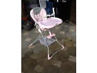 GRACO high chair, good condition.
