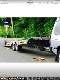 Ifor Williams xt177 car transporting trailer