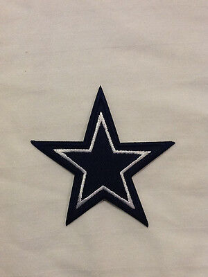 Dallas Cowboys Star Logo NFL Football Hat Shirt Embroidered Iron On Jersey Patch Dallas Cowboys Embroidered Football