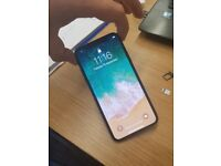 iPhone X 64GB Black - Amazing Condition - Includes Charger Case