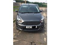 SMOKE GREY FORD ZETEC KA PLUS FOR SALE - Only 4 months old, perfect condition