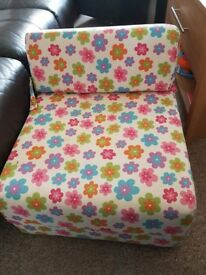 Floral Sofa Bed And Chair