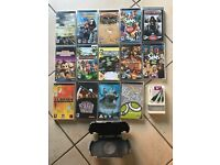 14 PSP games and accessories