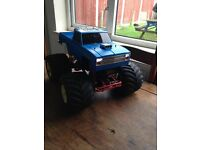 rc tamiya clodbuster vintage 1987 great condition