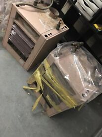 Two industrial heaters for sale