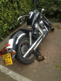 2002 Yamaha XVS Dragstar 125 for Sale - £1,200 ONO