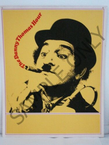 "The Danny Thomas Show NBC TV Promo Posters ORIGINAL Silk-Screen 22"" X 28"" Poster"