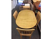 4 Seater Extendable Dining Table