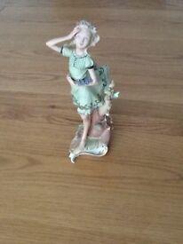Welsh porcelain spring girl for sale