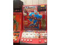 Retro Arcade Mancave Fruit Money Box Tuppenny Nudger
