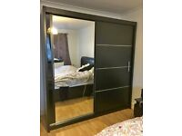 🎄CLEARANCE STOCK MUST GO🎄Luxury Stylish VISION ONE MIRROR WARDROBE ORDER NOW⬇️