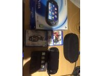 PS Vita Wifi Mint Condition–£115 Comes with 8GB memory card/Cases/ 4 Games/ Glasgow or Edinburgh