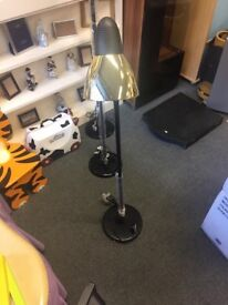 Edon Black and Gold Reading Lamp