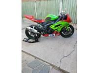 2009/2010 zx6r race bike( 130hp)
