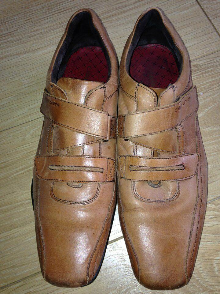 58c80a2e2a Men's Base London Tan Shoes. Only Worn A Few Times. Size 10 | in ...