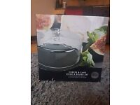 Taylors Eye Witness Cheese & Cake Dome and Board Set, Brand new