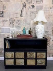 Vintage/shabby chic TV cabinet