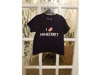 MINECRAFT TOP SIZE 5-6 YEARS (MORE AVAILABLE ON HERE)