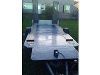 Transporter flat bed trailer