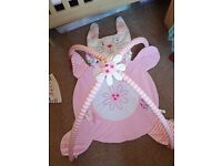 pink baby playmat excellent condition antrim