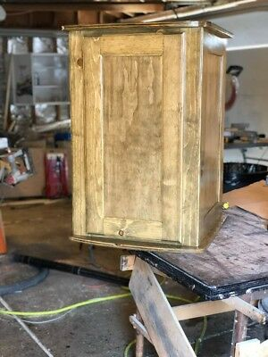 29/32 gallon bio cube stand driftwood stain with extras please look at photos