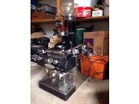 commercial coffee making machine frocino ,with coffee grinder as well, all in good working condition
