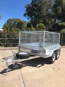8x5 Heavy Duty Tandem Axle Galvanised Caged Trailer Adelaide Region Preview